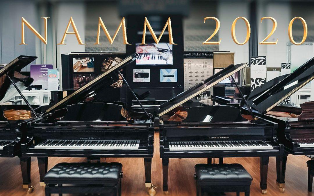 Mason & Hamlin at the 2020 NAMM Show